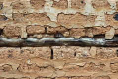 Old adobe wall Stock Photography