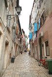 Old adriatic city 16. View of the old adriatic city Royalty Free Stock Photo