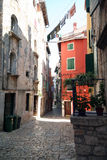 Old adriatic city 31. View of the old adriatic city Royalty Free Stock Images