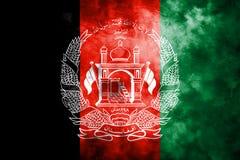 Old Afghanistan grunge background flag vector illustration