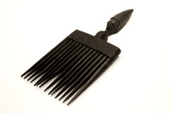 Old african sculptured comb Stock Image
