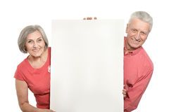 Old age couple Royalty Free Stock Photos