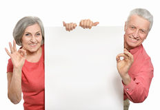 Old age couple Royalty Free Stock Images