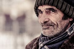 Old Age, Emotions, Life, Kindness Royalty Free Stock Photography