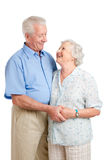 Old age together royalty free stock images
