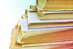 Old aged book close up. Retro effect Royalty Free Stock Image
