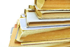 Old aged book close up Stock Images