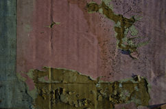 Old aged cardboard paper grunge background Royalty Free Stock Photography