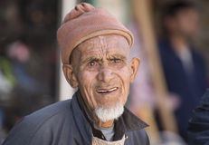 An Old Aged Man Stock Image