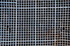 Old and aged metal grid background Royalty Free Stock Image