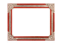 Old and aged photo frame Royalty Free Stock Image