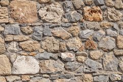 Old aged rock castle cement wall texture royalty free stock photos