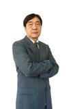 Old aged thai businessman Fotografie Stock