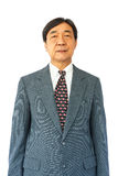 Old aged thai businessman Fotografia Stock Libera da Diritti
