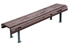 Old aged vintage park bench Royalty Free Stock Photo