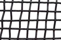 Old Aged Weathered Rusty Grid Cage Fence Iron Grating, Isolated Grungy Horizontal Large Detailed Macro Closeup, Grunge Rust Metal. Bars Mesh Detail, Vintage Stock Photos