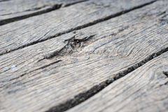Old aged wood planks in perspective Stock Image