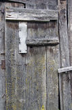 Old aged wooden barn door background Royalty Free Stock Photography
