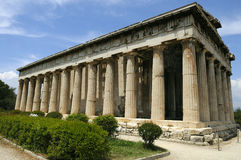 Old agora in Athens Royalty Free Stock Image
