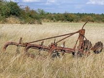 Old agricultural machine Royalty Free Stock Image