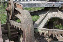 Old agricultural machine - detail Royalty Free Stock Photos