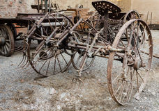 Old agricultural machine Stock Photography