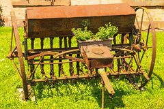 Old agricultural machine Royalty Free Stock Photography