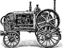 Old agricultural machine Royalty Free Stock Images