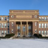 Agriculture Building at the University of Illinois Stock Images