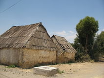 Old agriculture buildings in Central America Stock Photography