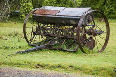Old Agriculture Machinerie Royalty Free Stock Images