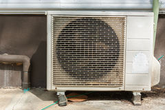 Old Air Compressor Royalty Free Stock Photography