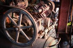 Old  air compressor Stock Photos