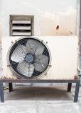 Old air compressors Royalty Free Stock Image