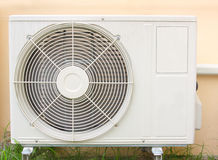 Old air condition in home Stock Images