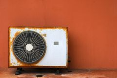 Old air conditioner Royalty Free Stock Photography