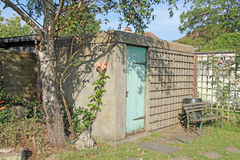 Old Air Raid Shelter Stock Photography