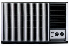 Old aircon Stock Photography
