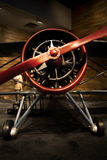 Old aircraft. An old aircraft showed in museum stock image