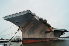 Old Aircraft Carrier Royalty Free Stock Photo