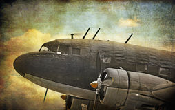Old aircraft Royalty Free Stock Photography