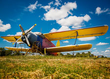 Free Old Airplane Royalty Free Stock Photography - 59227777