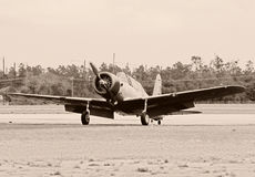 Old airplane Royalty Free Stock Image