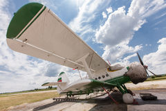 Old airplane Stock Images