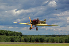 Old airplane Avia BH5 Royalty Free Stock Image