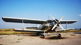 Old Airplane in color Royalty Free Stock Photo