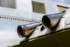 Old airplane Stock Photography