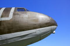 Old Airplane Nose Royalty Free Stock Photo