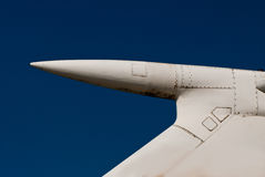 Old airplane wing tail Stock Images