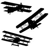 Old airplanes Stock Photo
